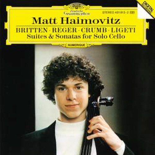 [중고] Matt Haimovitz / Matt Haimovitz plays Suites & Sonatas for solo cello (미개봉/dg0382)