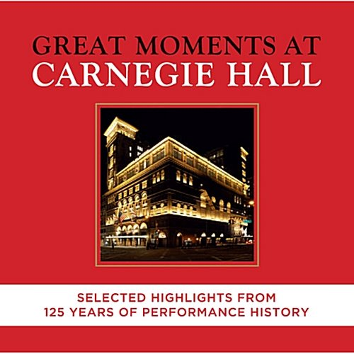 [중고] V.A. / Great Moments At Carnegie Hall (2CD/s80232c)