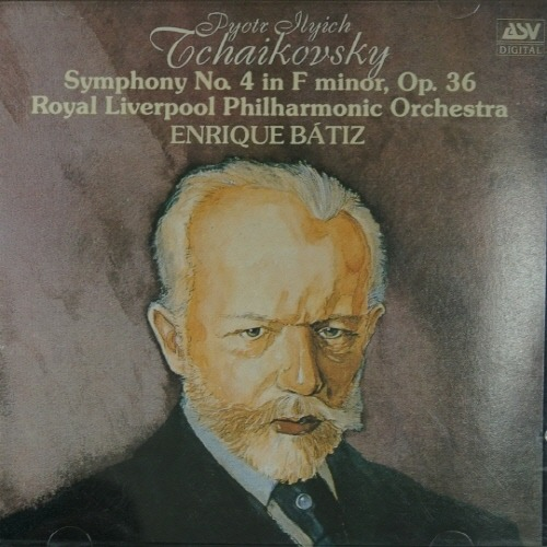 [중고] Enrique Batiz / Tchaikovsky : Symphony No.4 in F minor, OP.36 (skcdl0157)