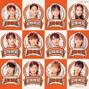 [중고] [DVD] Morning Musume (모닝구 무스메) / As For One Day (일본수입/DVD Single/epbe5066)