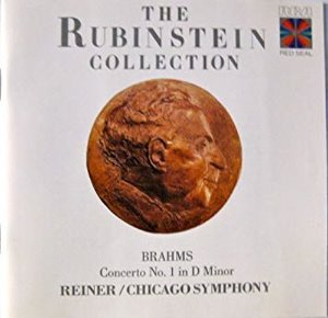 [중고] Fritz Reiner / The Rubinstein Collection - Brahms : Concerto No.1 (수입/56682rc)