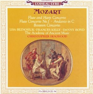 [중고] Christopher Hogwood / Mozart : Flute and Harp Concerto etc. (수입/4176222)
