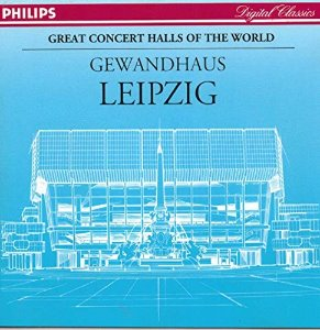 Gewandhaus Leipzig / Great Concert Halls of the World (미개봉/dp1174)