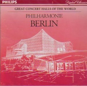 Berliner Philharmoniker / Great Concert Halls of the World (미개봉/dp1173)