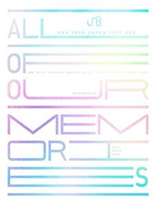 [중고] [DVD] 유앤비 (UNB) / UNB 2018 Japan Live DVD - All Of Our Memories (3DVD)