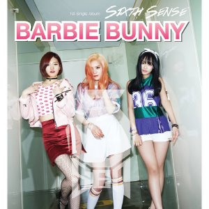 [중고] 식스센스 (Sixth Sense) / Barbie Bunny - 1st Single Album (Digipack/싸인/홍보용)