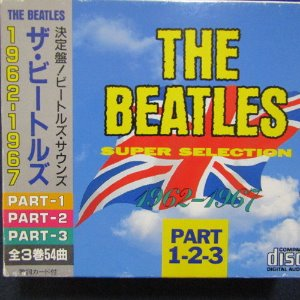 [중고] The Beatles / 1962 ~ 1967 - Part.1~3 (일본수입/3CD)
