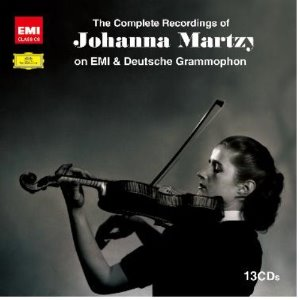 [중고] Johanna Martzy / The Complete Recordings of Johanna Martzy on EMI & Deutsche Grammophon (13CD/Box Set/dn0010)