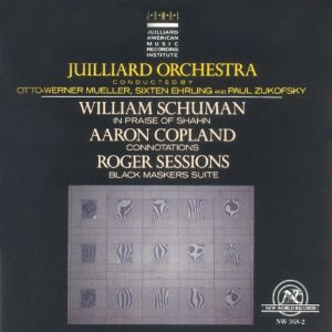 [중고] The Juilliard Orchestra / Works by Schuman, Copland, Sessions (수입/nw3682)