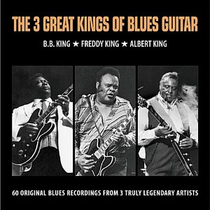 [중고] B.B. King & Freddy King & Albert King / The 3 Great Kings Of Blues Guitar (3CD/Digipack)