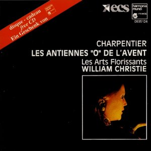 "[중고] William Christie / Charpentier: Antiennes ""O"", Arts Florissants (수입/0905124)"