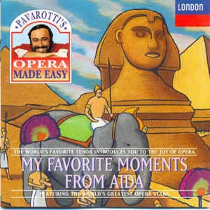 [중고] Luciano Pavarotti / My Favorite Moments From Aida (수입/4438272)