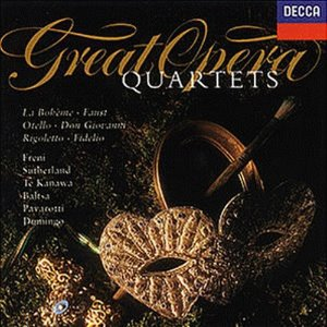 [중고] V.A. / Great Opera Quartets (수입/4480602)