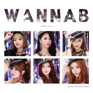 [중고] 워너비 (Wanna.B) / Attention (1st Digital Single/Digipack/홍보용)