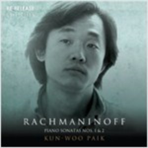 [중고] 백건우 / Plays Sergei Rachmaninoff (홍보용/du42127)