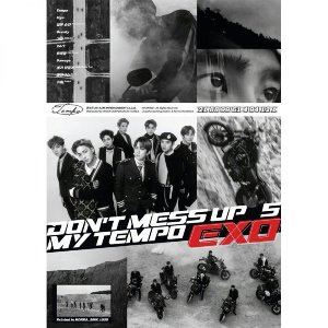 [중고] 엑소 (Exo) / 5집 Don't Mess Up My Tempo (Allegro Ver.)