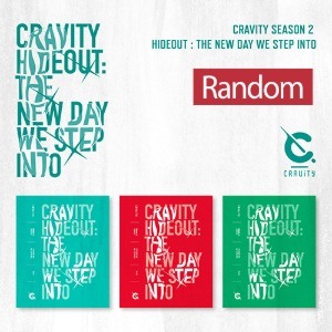 [중고] 크래비티 (Cravity) / Cravity Season2. Hideout: THE NEW DAY WE STEP INTO (버전 3종 중 랜덤발송)