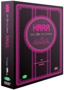 [중고] [DVD] 카라 (Kara) / Karasia: 2012 The 1st Concert In Seoul (3DVD)