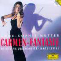 [중고] Anne-Sophie Mutter, James Levine / Carmen Fantasy (dg1370)