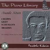 [중고] Anatole Kitain / The Piano Library -  Chopin, Liszt (수입/pl221)