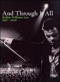 [중고] [DVD] Robbie Williams / And Through It All: Live 1997~2006 (2DVD/Digipack/i트레이 고정부분 파손)