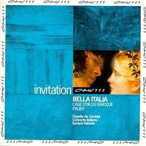 [중고] V.A / Bella Italia: Golden Age of Italian Baroque (수입/ops10009)