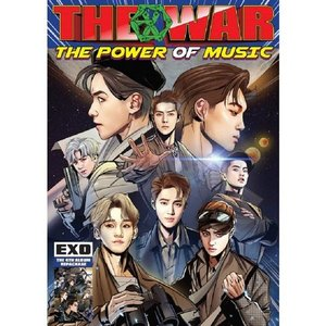 [중고] 엑소 (Exo) / 4집 리패키지 THE WAR: The Power of Music (Korean Ver)