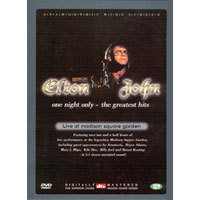 [중고] [DVD] Elton John : One Night Only - The Greatest Hits