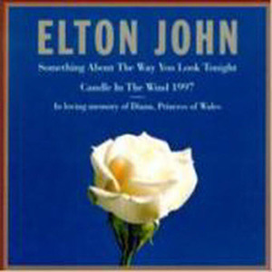 Elton John / Something About The Way You Look Tonight & Candle In The Wind (수입/미개봉/Single)