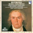 John Eliot Gardiner / Beethoven : Mass in D major, Op.123 'Missa Solemnis' (미개봉/dg0359)