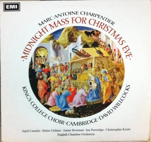 [중고] [LP] David Willcocks / Charpentier : Midnight Mass For Christmas Eve, Purcell : Te Deum (수입/asd2340)