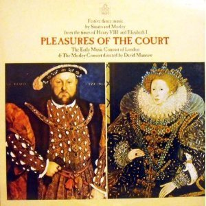 [중고] [LP] David Munrow / Susato, Morley : Festive Dance Music - Pleasures Of The Court (수입/s36851)