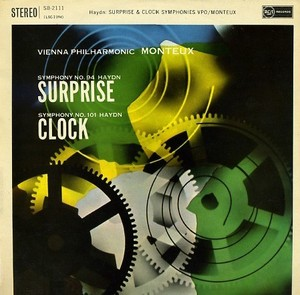 "[중고] [LP] Pierre Monteux / Haydn : Symphony No. 94 in G ""Surprise"", Symphony No. 101 in D ""Clock"" (수입/sb2111)"