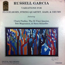[중고] [LP] Russell Garcia / Variations Chuck Findley Bob Magnusson (수입/tr522)