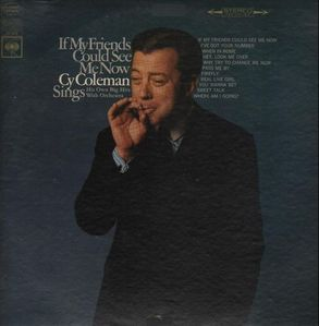 [중고] [LP] Cy Coleman / If My Friends Could See Me Now (수입)
