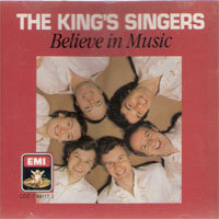 [중고] King's Singers / Believe In Music (홍보용/ekcd0193/cdc7491172)