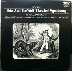 [중고] [LP] Malcolm Sargent / Peter & The Wolf (수입/sts15114)